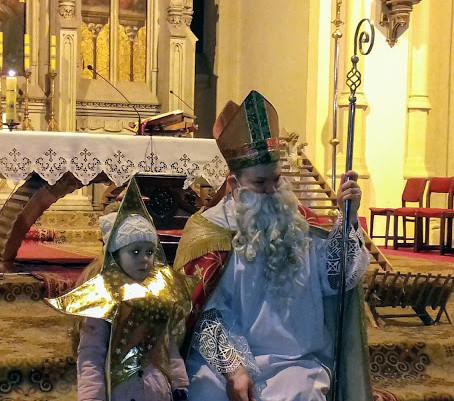Św. Mikołaj odwiedził naszych parafian